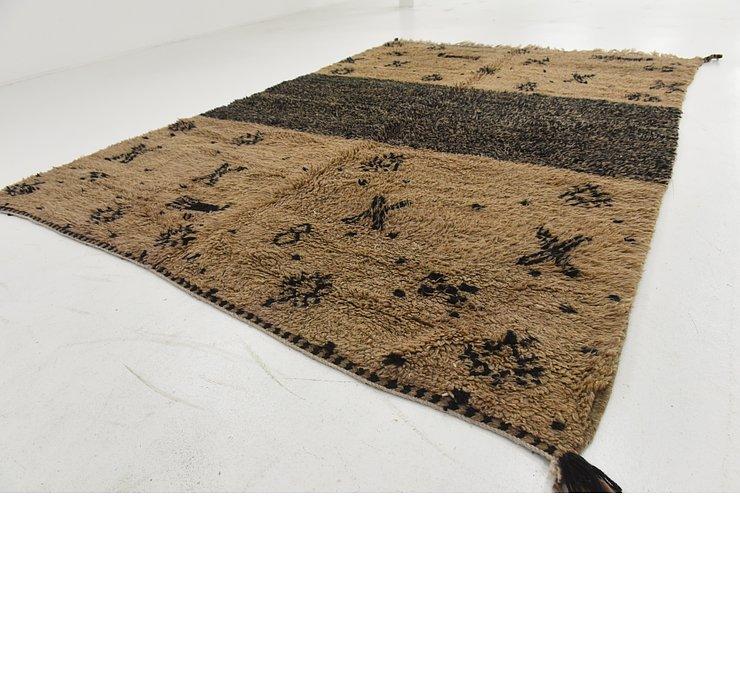 6' 11 x 9' 10 Moroccan Rug