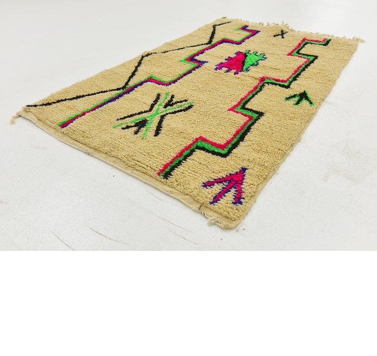 3' 3 x 5' 1 Moroccan Rug
