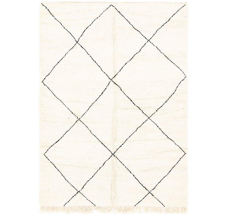 6' 8 x 9' 6 Moroccan Rug