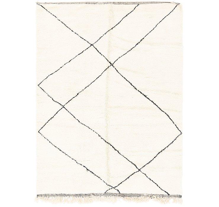 6' 5 x 9' 3 Moroccan Rug