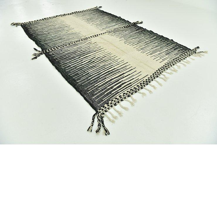 7' x 9' 8 Moroccan Rug