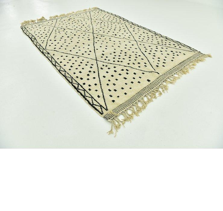 6' 9 x 9' 7 Moroccan Rug