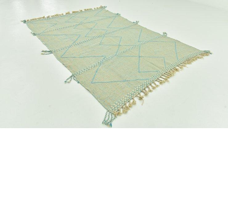 6' 4 x 9' 1 Moroccan Rug