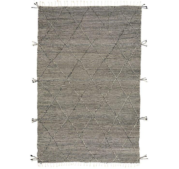 9' 6 x 13' 10 Moroccan Rug