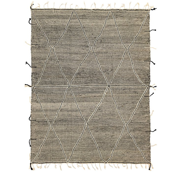 9' 6 x 12' 9 Moroccan Rug