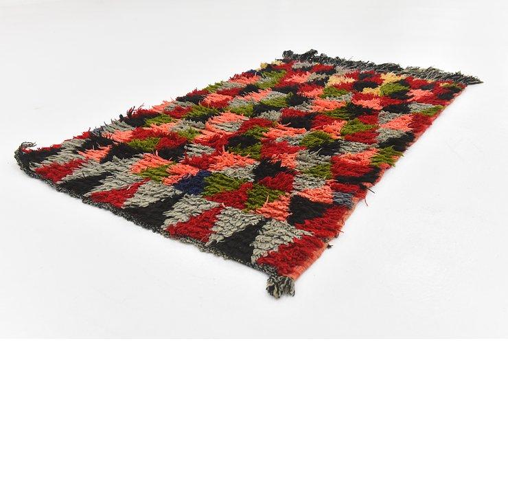 2' 9 x 4' 5 Moroccan Rug