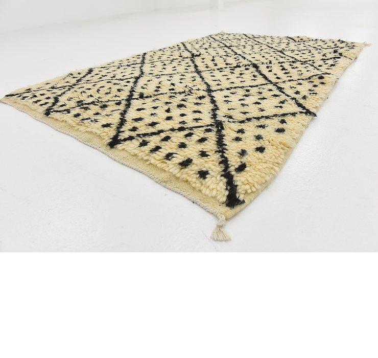 3' 2 x 4' 11 Moroccan Rug