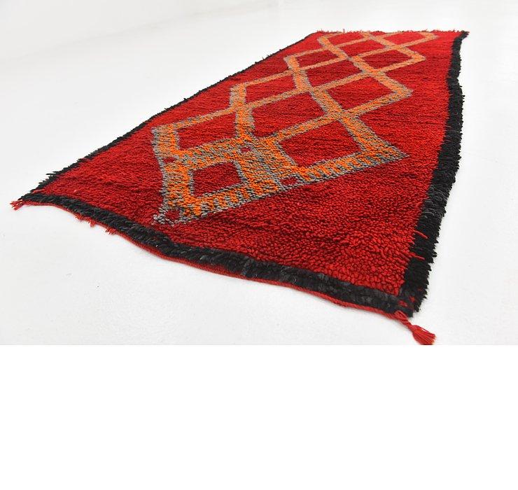 3' x 7' 1 Moroccan Runner Rug
