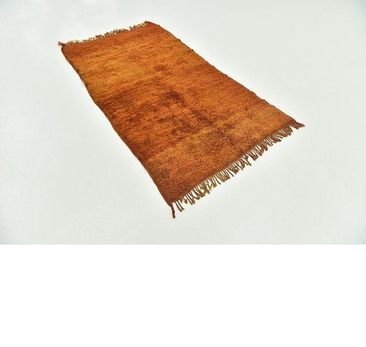 3' 5 x 6' 1 Moroccan Runner Rug