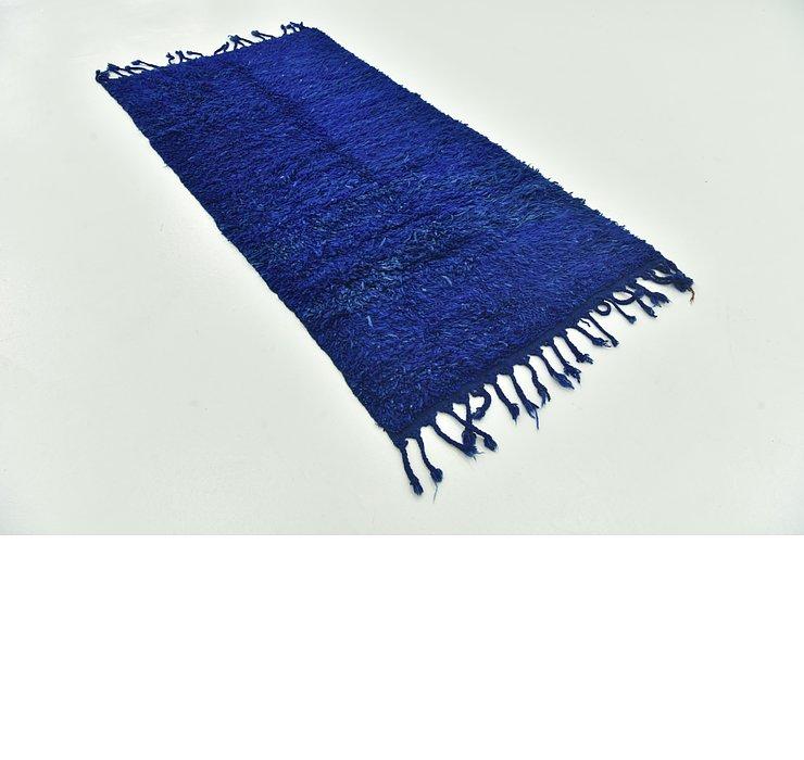 3' 5 x 6' 10 Moroccan Runner Rug