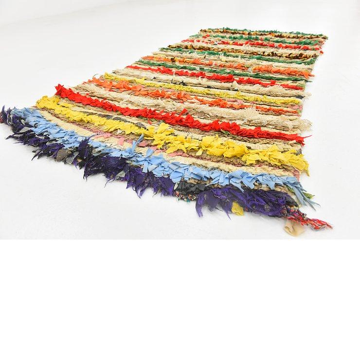 2' 8 x 5' 1 Moroccan Rug