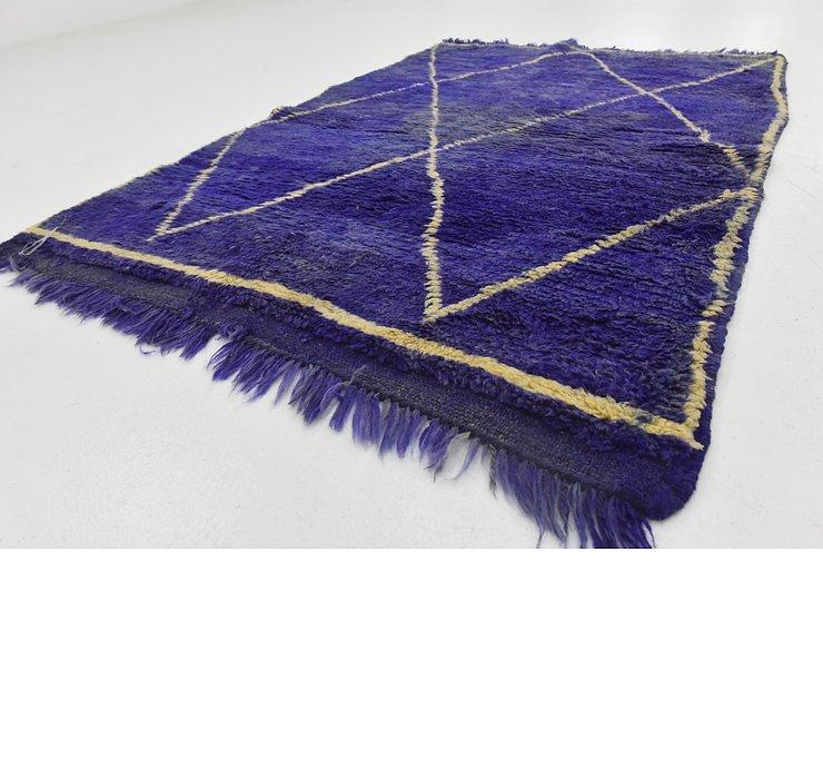 102cm x 135cm Moroccan Rug