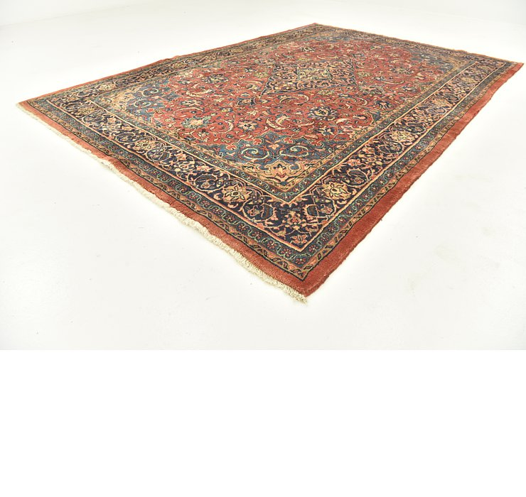 7' 5 x 10' 10 Sarough Persian Rug