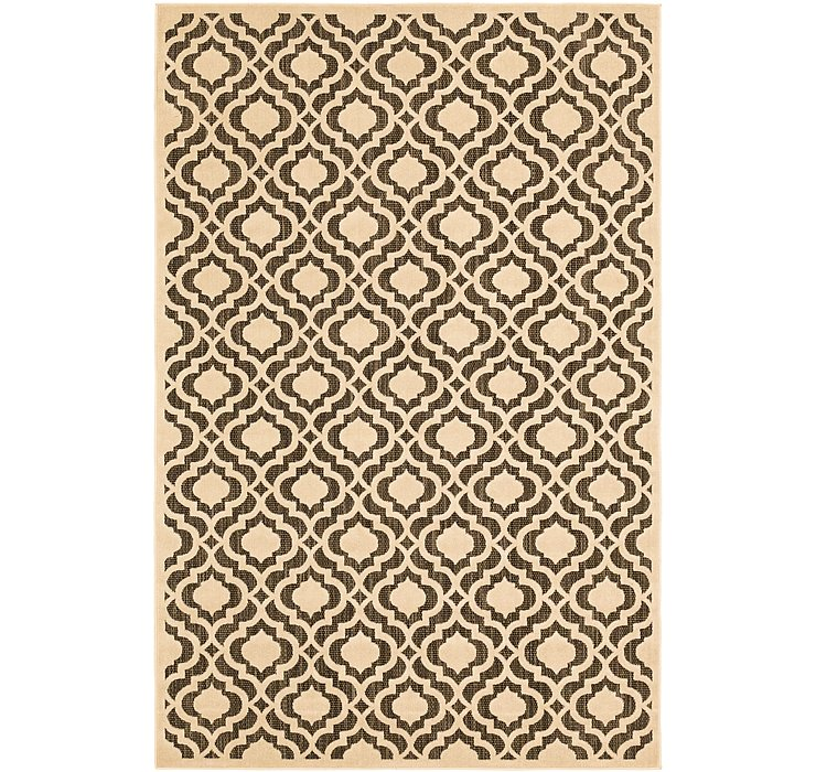 5' x 7' 7 Outdoor Trellis Rug