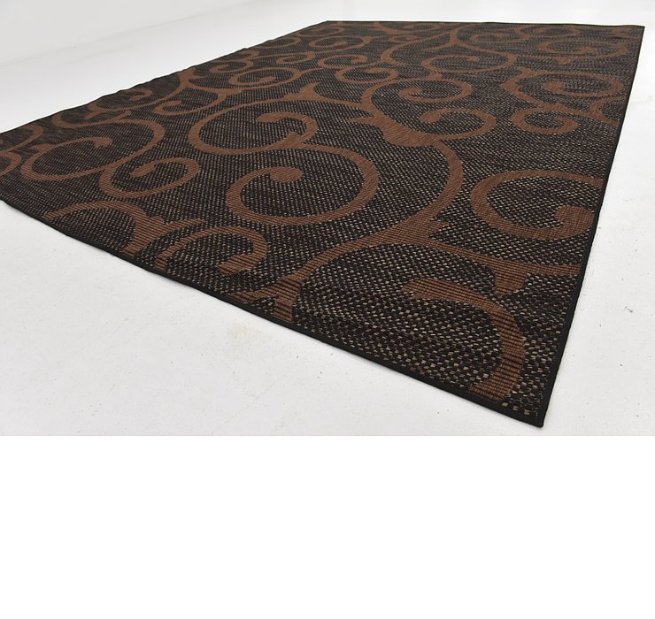 9' x 12' Outdoor Botanical Rug