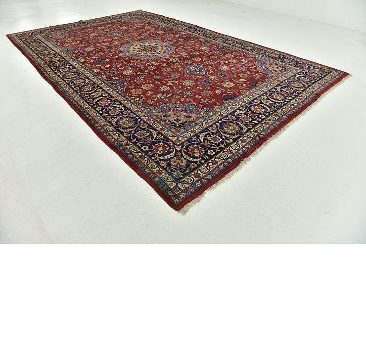 10' x 15' 6 Isfahan Persian Rug