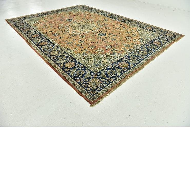 9' 8 x 13' 4 Mashad Persian Rug
