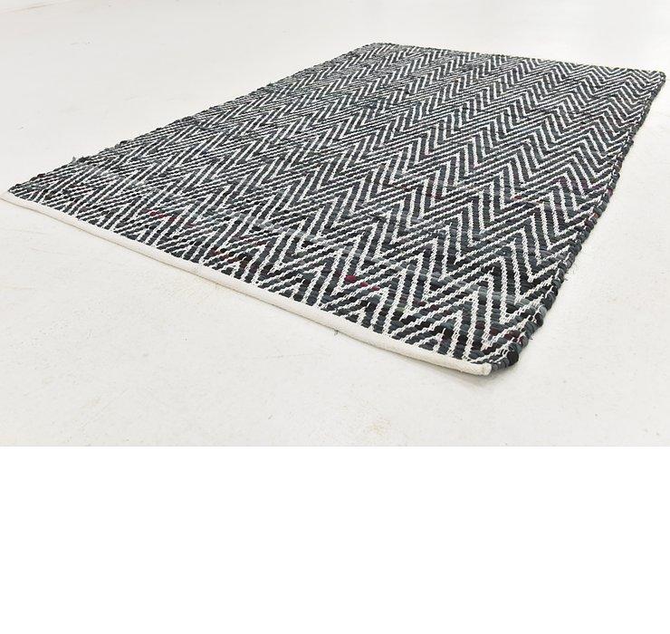 127cm x 188cm Chindi Cotton Rug