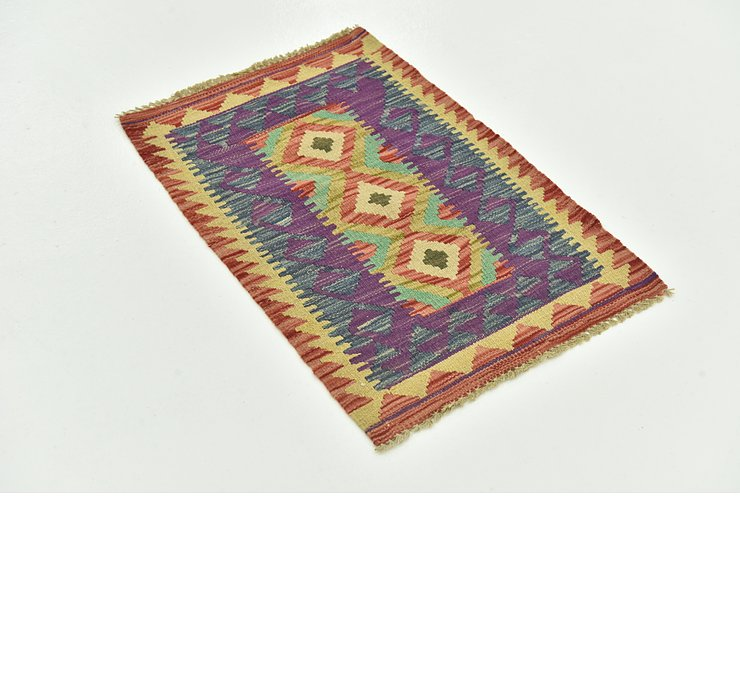 53cm x 75cm Indo Tibet Rug
