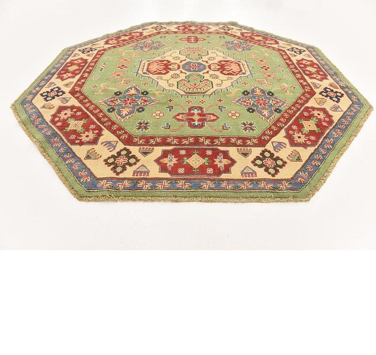 6' 2 x 6' 4 Kazak Oriental Octagon ...