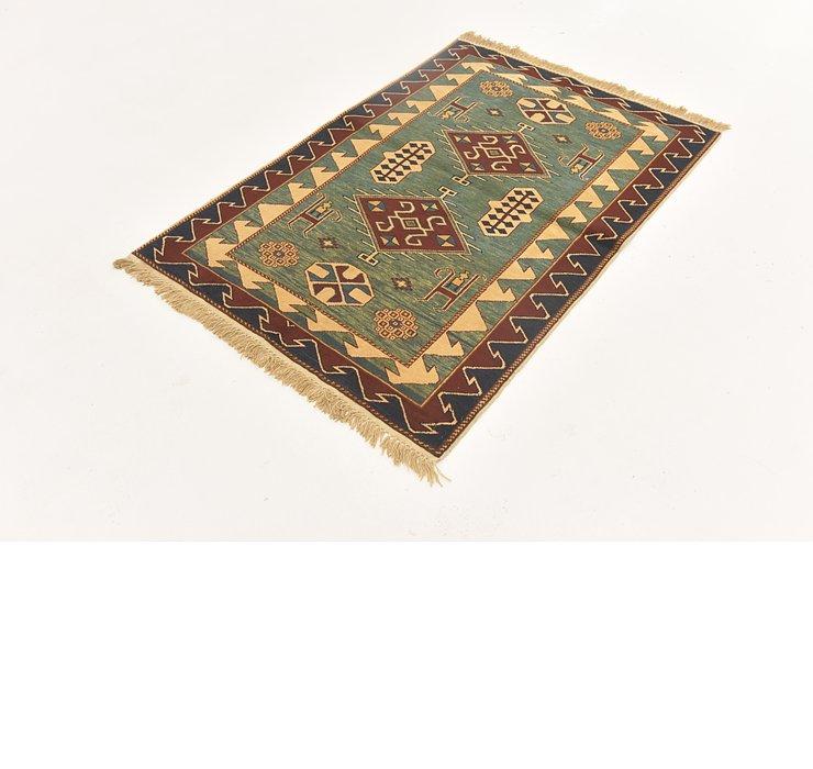 3' 3 x 4' 9 Shirvan Persian Rug