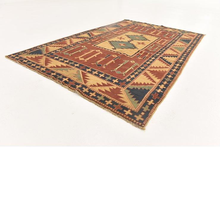 3' 8 x 5' 7 Shirvan Persian Rug