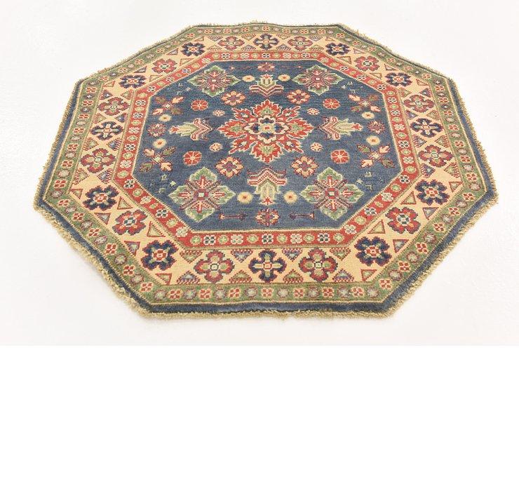 3' 2 x 3' 3 Kazak Octagon Rug