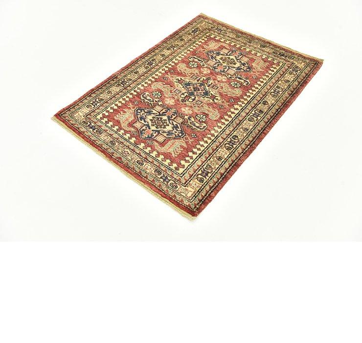 90cm x 125cm Kazak Oriental Rug