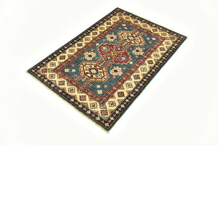 80cm x 122cm Kazak Oriental Rug