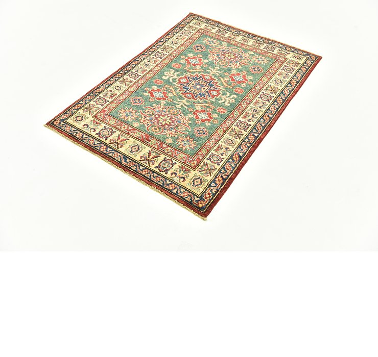 85cm x 122cm Kazak Oriental Rug
