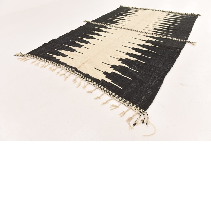7' x 11' 4 Moroccan Rug