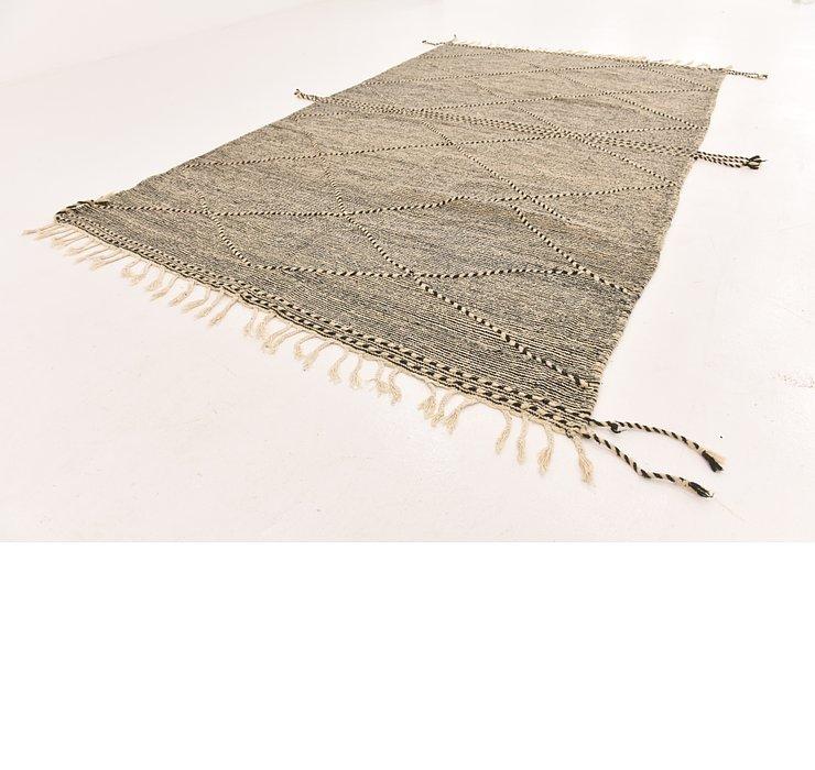 6' 7 x 10' 10 Moroccan Rug