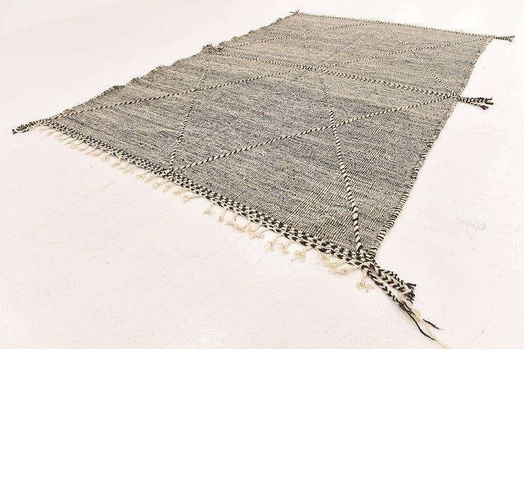 6' 9 x 10' 4 Moroccan Rug