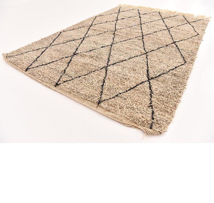 6' 7 x 9' 11 Moroccan Rug
