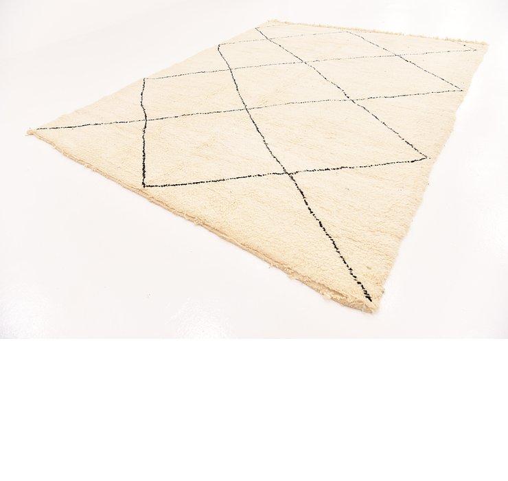 8' 7 x 11' 4 Moroccan Rug