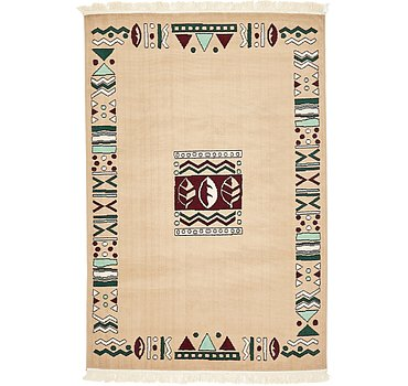 132x201 Reproduction Gabbeh Rug