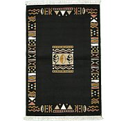 Link to 4' 4 x 6' 7 Reproduction Gabbeh Rug