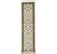 Link to 2' 7 x 13' Tabriz Design Runner Rug