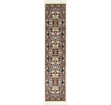 79x361 Tabriz Design Rug