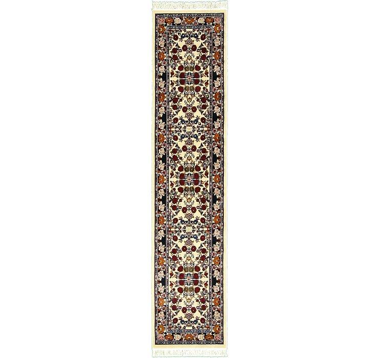2' 7 x 11' 10 Tabriz Design Runner Rug