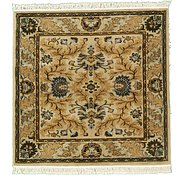 Link to 5' x 5' Meshkabad Design Square Rug