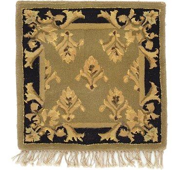 46x46 Tabriz Design Rug