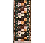 Link to 3' 3 x 9' 8 Reproduction Gabbeh Runner Rug