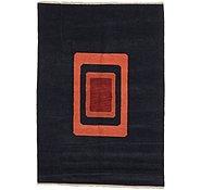 Link to 5' 7 x 7' 10 Indo Tibet Rug
