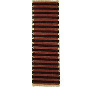 Link to 2' 8 x 8' 4 Indo Tibet Runner Rug