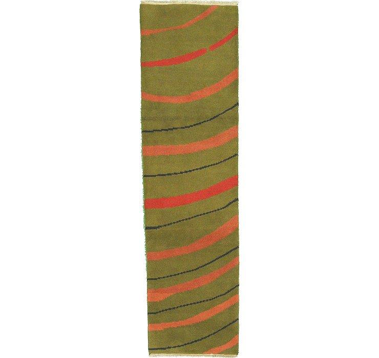 80cm x 305cm Indo Gabbeh Runner Rug