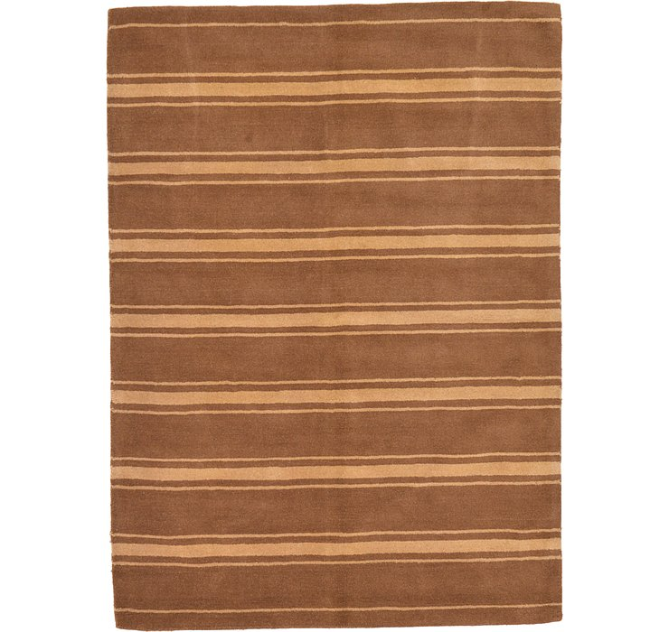 Brown Reproduction Gabbeh Rug