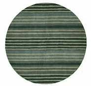 Link to 6' 6 x 6' 6 Reproduction Gabbeh Round Rug