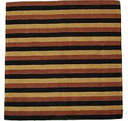 Link to 6' 8 x 6' 8 Reproduction Gabbeh Square Rug