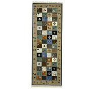 Link to 3' 7 x 9' 10 Shiraz Runner Rug